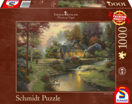 Thomas Kinkade - Stillwater Cottage - 1000 stukjes