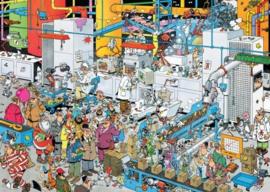 Jan van Haasteren - De Snoepfabriek - 500 stukjes