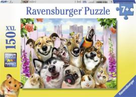 Ravensburger - Grappige Dieren  selfie - 150XXL stukjes  OP=OP