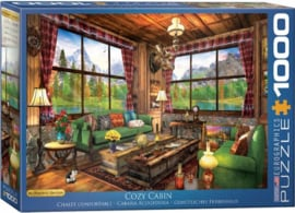 Eurographics - Cozy Cabin - 1000 stukjes