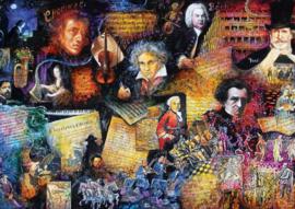 Art Puzzles - Musikliebhaber - 260XL stukjes