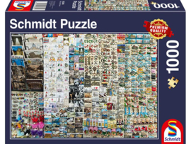 Schmidt - Souvenier Kraam - 1000 stukjes