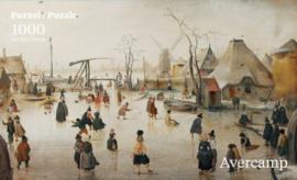 Puzzelman Hendrick Averkamp - Winter 2 - 1000 stukjes