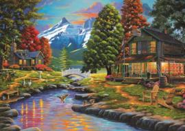 Art Puzzel - Two Sides a Forest - 2000 stukjes
