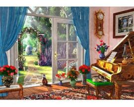 Wentworth - Summer Garden View - 40 stukjes