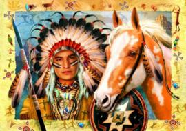 Bluebird - Indian Chief - 1500 stukjes