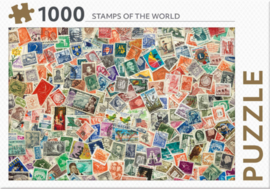 Rebo - Stamps of the World - 1000 stukjes
