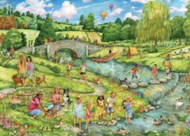 Otter House - The Great Outdoors - 1000 stukjes