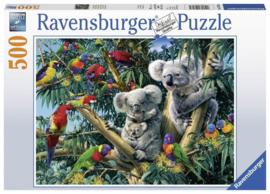 Ravensburger - Koala's in de Boom - 500 stukjes