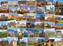 Eurographics 0762 - Globetrotter Castles and Palaces - 1000 stukjes