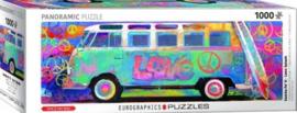 Eurographics - Samba Pa' Tl-Love Bus VW  - 1000 stukjes  Panorama