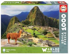 Educa - Machu Picchu, Peru - 1000 stukjes