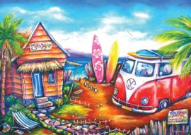 Art Puzzle - Surf Camp - 260XL stukjes
