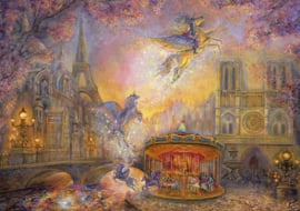 Grafika Josephine Wall - Magical Merry Go Round - 1500 stukjes