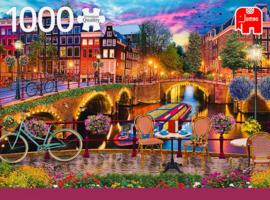 Jumbo Premium - Amsterdam Canals - 1000 stukjes