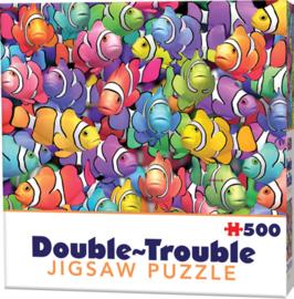 TFF Dubbelzijdige  puzzel - Clownvis - 500 stukjes
