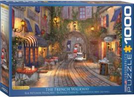 Eurographics 0961 - The French Walkway - 1000 stukjes