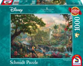 Disney Thomas Kinkade - Het Jungle Boek - 1000 stukjes