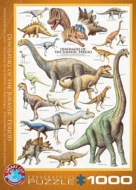 Eurographics 0099 - Dinosaurus of the Jurassic - 1000 stukjes