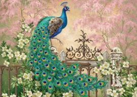 Art Puzzle - Peacock - 260XL stukjes