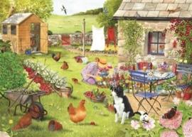 House of Puzzles - Grandma's Garden - 500XL stukjes