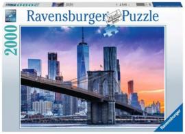 Ravensburger - Van Brooklyn naar Manhattan - 2000 stukjes