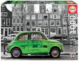 Educa - Car in Amsterdam - 1000 stukjes