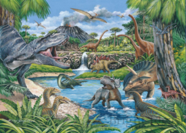 House of Puzzles - Dinosaurs - 500XL stukjes