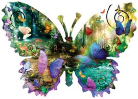 SunsOut 96024 - Forest Butterfly - 1000 stukjes  Vormpuzzel