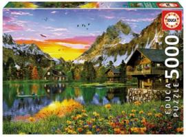 Educa - Alpenmeer - 5000 stukjes