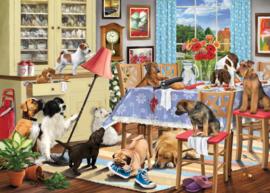 Otter House - Dogs in the Dining Room - 1000 stukjes