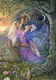 Grafika Josephine Wall - Love Between Dimensions - 1500 stukjes