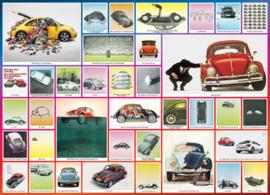 Eurographics 0800 - The VW Beetle - 1000 stukjes