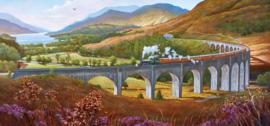 Gibsons 4037 - Glenfinnan Viaduct - 636 stukjes  Panorama