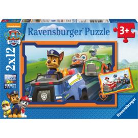 Ravensburger - Paw Patrol in Actie - 2x12 stukjes