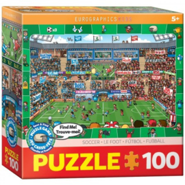 Eurographics 0476 - Soccer - 100XXL stukjes