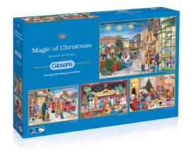 Gibsons 5046 - Magic of Christmas - 4x500 stukjes