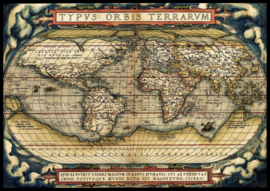 Art Puzzle 5521 - the First Modern Atlas, 1570 - 3000 stukjes