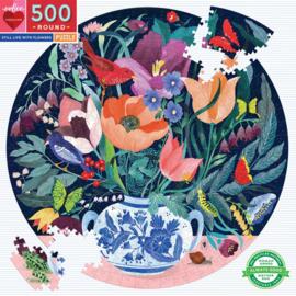 eeBoo - Stil Life With Flowers - 500 stukjes