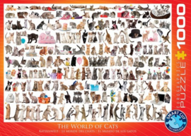 Eurographics 0580 - The World of Cats - 1000 stukjes