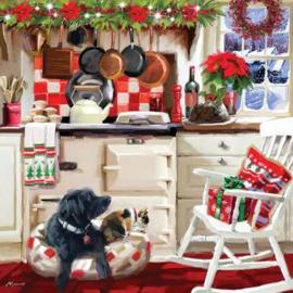 Otter House - Christmas Kitchen - 1000 stukjes