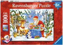 Ravensburger - De Zak van de Kerstman - 100XXL stukjes