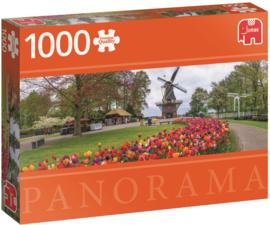 Jumbo Premium - De Keukenhof - 1000 stukjes Panorama