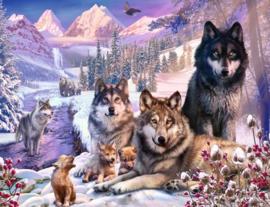 Ravensburger - Wolven in de Sneeuw - 2000 stukjes