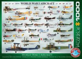 Eurographics 0087 - World War I Aircraft - 1000 stukjes
