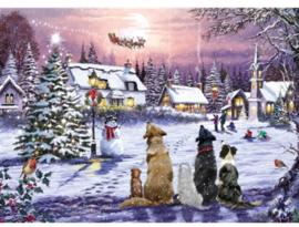 Otter House - Christmas Eve - 1000 stukjes