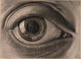 Puzzelman M.C. Escher - Oog - 1000 stukjes