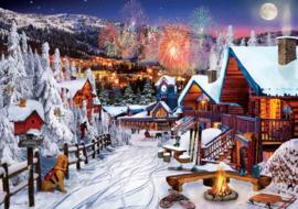 Art Puzzle - Winter Fun - 1000 stukjes