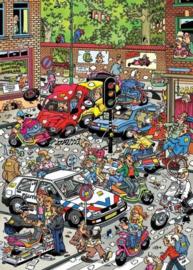 Jan van Haasteren - Verkeers Chaos - 500 stukjes