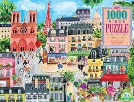 eeBoo - Paris in a Day - 1000 stukjes